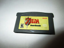 The Legend of Zelda A Link to the Past Four Swords Game Boy Advance SP Game