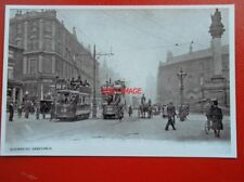 POSTCARD SHEFFIELD TRAMS -1905  NO 18 & 196 AT MOORHEAD