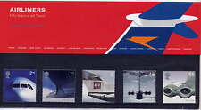 GB 2002 JET AVIATION AIRLINERS PRESENTATION PACK No.334