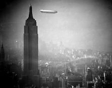 "The Hindenburg over Empire State Building in New York City 11 x 14""  Photo Print"