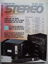 STEREO 2/90 FINE ARTS CD 9009,JVC AX Z 1010 TN,ROWLAND COHERENCE ONE TWO MOD 7