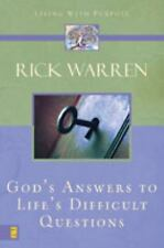God's Answers to Life's Difficult Questions by Rick Warren (Hardcover)