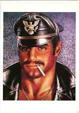 TOM OF FINLAND DRAWING SEXY MAN LEATHER FETISH GAY INTEREST