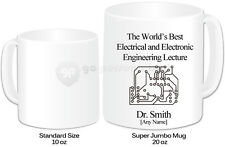 Personalised Jumbo Giant 20oz Mug- Electrical & Electronic Engineering Design
