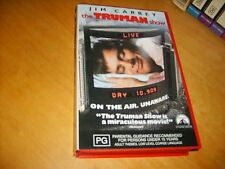 VHS * The Truman Show *1998 Australian CIC Release Adult Thought Provoking Drama