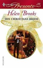 His Christmas Bride (Harlequin Presents), Brooks, Helen, , Book, Good