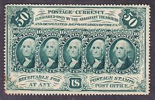 Us 50c Fractional Currency 1st Issue Perf w/ Monogram Fr 1310 Ch Cu