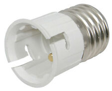 ES EDISON SCREW BC BAYONET CAP LIGHT BULB ADAPTOR X 1