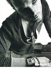 PUBLICITE ADVERTISING 094  2008   DIESEL   collection montres