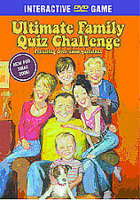 Ultimate Family Quiz Challenge (DVDi, 2006) New Interactive DVD Game