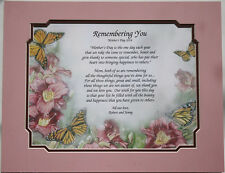 Personalized Poem for Mom ** Mother's Day and Birthday Gift Idea **L@@K**