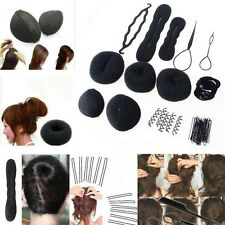 NEW Women Magic Braiders Hair Twist Styling Clip Stick Bun Maker Braid Tool Set