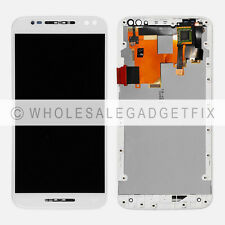 W Motorola Moto X Pure Edition XT1575 LCD Display Touch Screen Digitizer + Frame