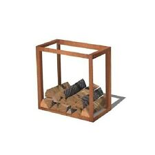 Corten Steel Linkable Wood Storage/Garden Feature/Fire Burner Log Store
