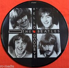 "THE BEATLES -Hello Goodbye/I Am The Walrus- Rare UK 7"" Picture Disc Vinyl Record"