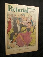 1950 SUNDAY PICTORIAL REVIEW May 7th VG/FN Louis Priscilla Milwaukee Sentinel