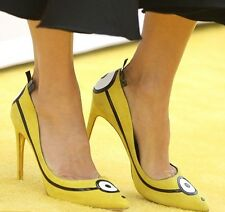 **RUPERT SANDERSON** Minion Limited Edition Pumps Heels Shoes