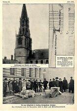 Das Erdbeben vom 16.November in Konstanz * Bilddokumente 1911