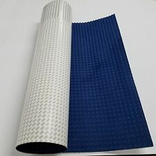EVA Dark Blue Square Diamond Grip Decking Sheet SUP SURF Boat With 3M Adhesive