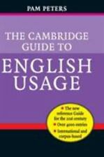 The Cambridge Guide to English Usage-ExLibrary