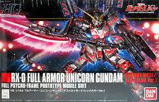 Bandai Gundam Unicorn FA-87 Full Armor (Destroy Mode / Red) HGUC 1/144 Model Kit