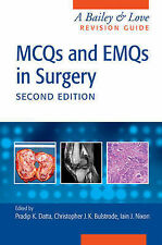 MCQs and EMQs in Surgery: A Bailey and Love Revision Guide by Apple Academic...