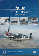 The Spitfire & The Lancaster Documentary DVD By Jeff Watson
