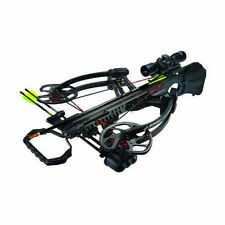 New Barnett Vengeance Black Carbon Fiber Crossbow Ill MR Scope Package 78201