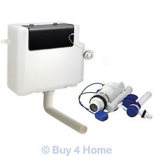 Concealed Cistern - 6 Litre Dual Flush Front Access Side Entry - White WC BTW