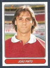 PANINI EUROPEAN FOOTBALL STARS 1997- #100-BENFICA & PORTUGAL-JOAO PINTO
