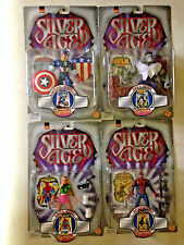 1999 TOY BIZ PREVIEWS EXCLUSIVE SILVER AGE 4 FIGURE SET GWEN STACY GREY HULK D31