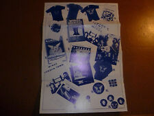 Paul McCartney Wings Fun Club Sandwich Rare Glossy Offers Sheet Beatles