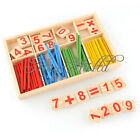 Wooden Montessori Mathematics Material Early Learning Counting Toy for Kids J