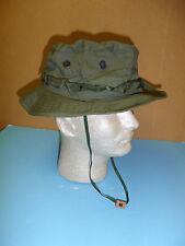 b5534 Vietnam OD Poplin Boonie Hat size 58 dark green band