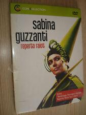 DVD N° 8 COMIC COLLECTION SABINA GUZZANTI REPERTO RAIOT RASSEGNA STAMPA