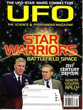 UFO Magazine Science & Phenomena Magazine February/March 2002 Remote Viewers