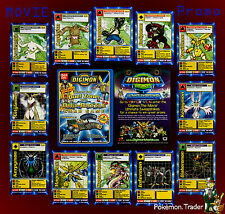 Digimon The Movie Ultimate Sweepstakes Promotional Digimon Card From Pokemon Era