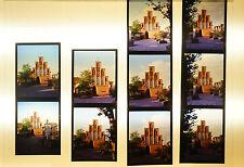 """Dias Dia Mittelformat 7x6 cm - 10 x """"Tempel"""" - B2445"""
