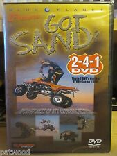 Got Sand? (DVD, 2006), NEW, ATV Extreme Action, Combined Shipping Discount