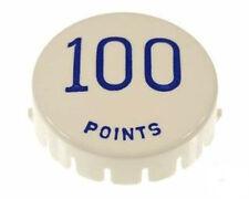 """1 Chapeau bumper caps flipper Gottlieb  """" 100 points"""" BLEU A-11425 B"""