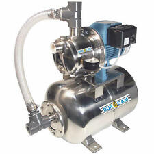 Bur-Cam 16 GPM 3/4 HP Stainless Steel Shallow Well Jet Pump w/ 6.6 Gal. Stain...