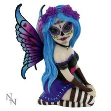 Nemesis Now Sugar Skull Gothic Fairy figurine of Azula