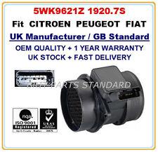 PEUGEOT 306 307 406 2.0HDi 90 / 110 Mass Air Flow meter Sensor 5WK9621 19207S