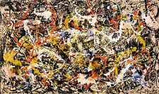 Prints on Canvas, Convergence by Jackson Pollock
