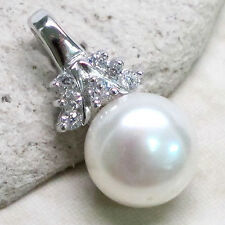 UNIQUE FRESHWATER PEARL 925 STERLING SILVER PENDANT