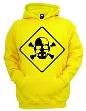 Breaking Bad Toxic Hoodie Mens Top Meth Dealing Gangster Jumper Cool Jacket