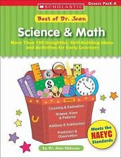 Best Of Dr. Jean: Science & Math: More Than 100 Delightful, Skill-Building Ideas