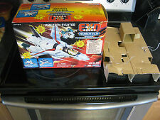 ROBOTECH MACROSS EXO SQUAD PLAYMATES VERITECH FIGHTER BOX AND INSERT FOR MIB