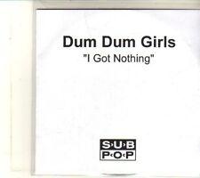 (DQ946) I Got Nothing, Dum Dum Girls - DJ CD
