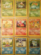 Pokemon Card COMPLETE SET of NM ORIGINAL 151/150 w/ 1st EDITION & SHADOWLESS